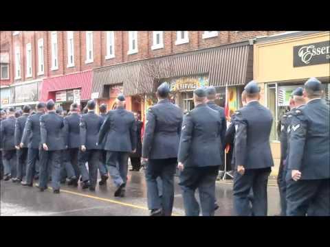 Remembrance Day In Brighton With Lt  Gov  Elizabeth Dowdeswell