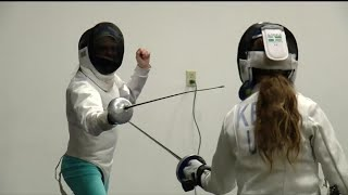 Colorado Springs kids learn fencing from Olympic athlete