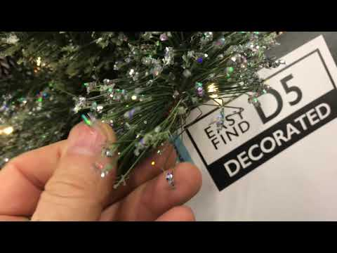 2018 Home Depot Christmas Decorations COMPARE Artificial Trees