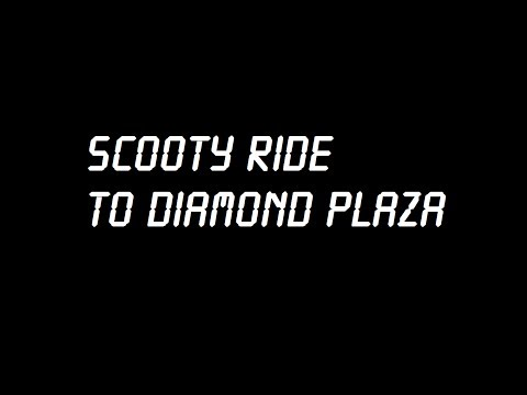 Scooty Ride From my home to Diamond Plaza