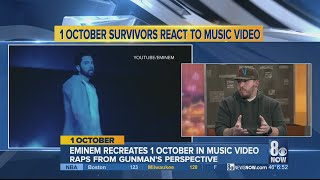 Survivor talks about Eminem's new song on Oct. 1
