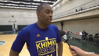 James Anderson talks about Zalgiris, Khimki and upcoming season