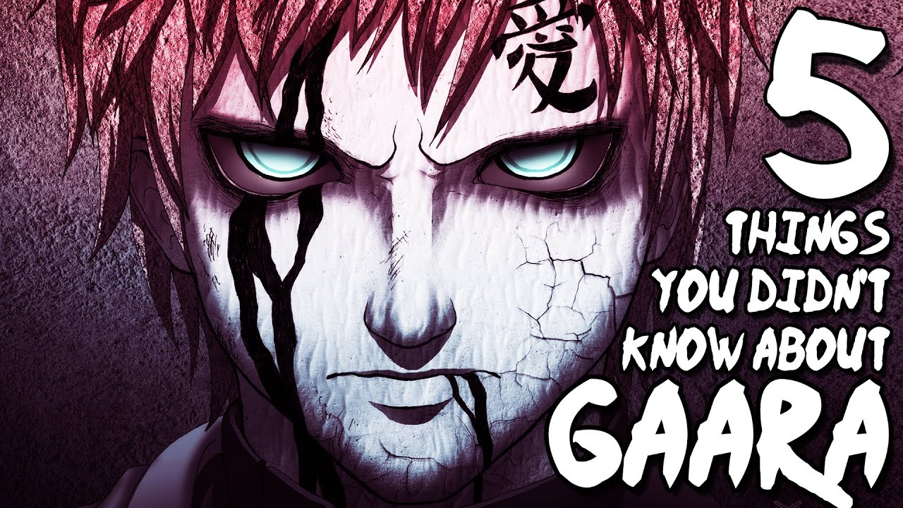 5 Things You Didn't Know About Gaara (5 Facts)   The Week ...