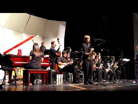 Wellington High School Jazz Band - When Sunny Gets Blue