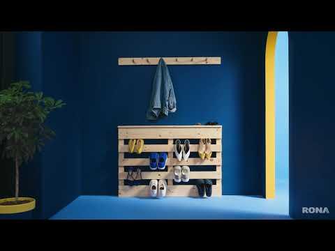 DIY Wood Shoe Rack   RONA
