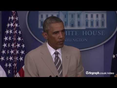 Obama blames Russia for Ukrainian violence, August 29, 2014 - The Telegraph  - 5qYVy26EZ5s -