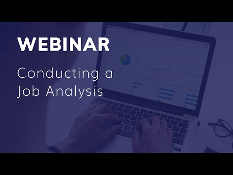 eSkill Webinar: Conducting a Job Analysis – Best Practices for Results and Compliance