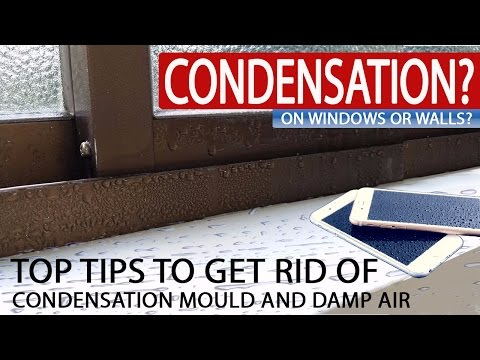 CONDENSATION ON WINDOWS AND WALLS