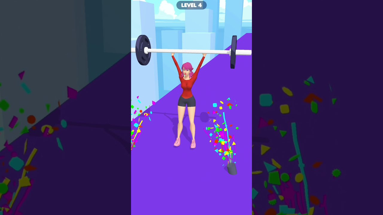 Barbell Girl🏋️- UPDATE  GAMEPLAY Mobile (Android & ios)