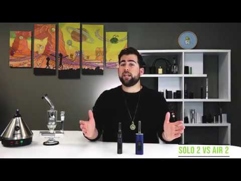 Arizer Solo 2 vs Air 2 Vaporizer Comparison Review – TVape