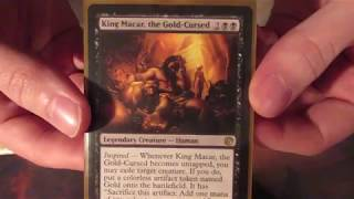 King Macar, The Gold-Cursed: EDH Deck Profile