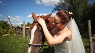 Красивая свадьба Дианы и Саши (Железногорск 2013)