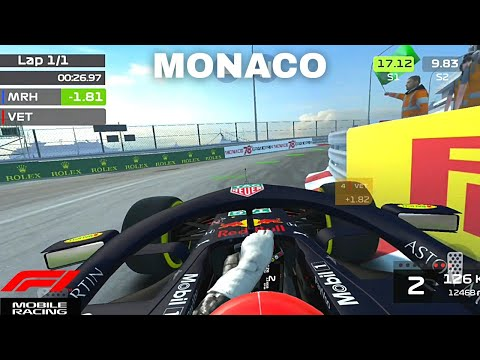 F1 Mobile Racing Monaco Personal Record + Setup!