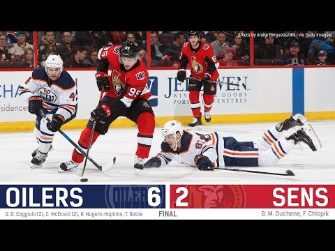 Sens vs. Oilers - Players Post-game