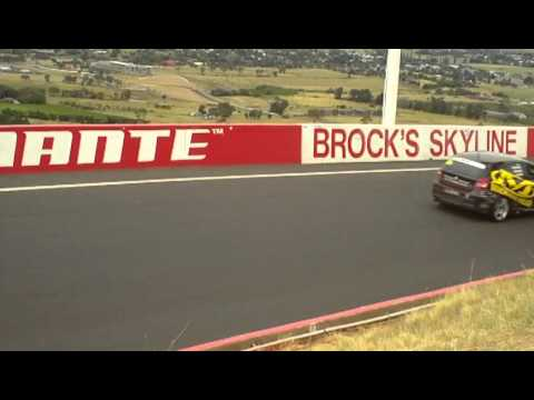 2011 Bathurst 12 Hour Under Safety Car Brocks Skyline