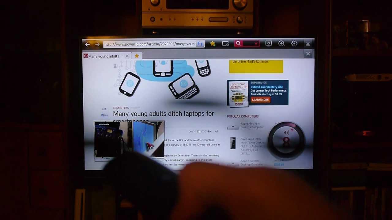 lg42lm760s smart tv im ausf hrlichen test de youtube. Black Bedroom Furniture Sets. Home Design Ideas