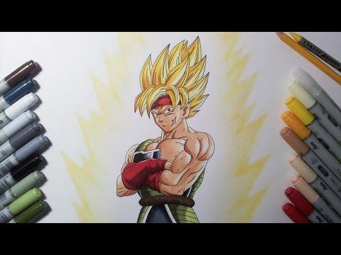 Drawing Bardock Super Saiyan   SSJ - Father Of Goku