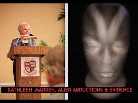 Physical Evidence of ET Abductions & UFO's, Full Disclosure Kathleen Marden
