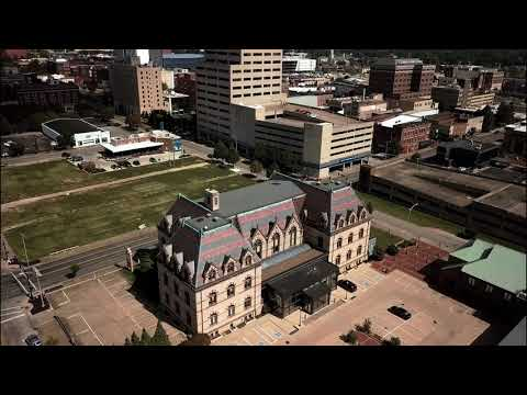 Downtown Evansville, IN  w/bonus footage