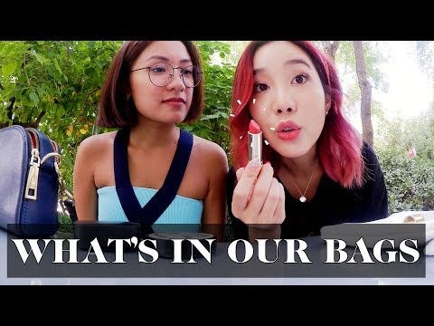 What's in our Bags with Joan Kim (Travel Edition) | Laureen Uy