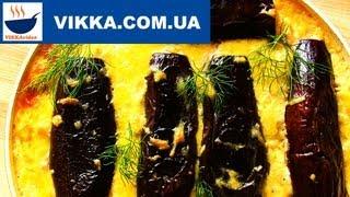 Запеканка из баклажан с фаршем:Баклажаны в духовке-рецепт  | VIKKAvideo