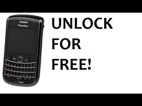 How To Unlock Your Blackberry For Free - YT
