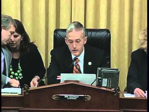 Rep. Gowdy- House Judiciary Committee, Agricultural Labor
