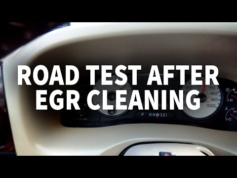 Ford 6.0 Powerstroke road test after EGR cleaning
