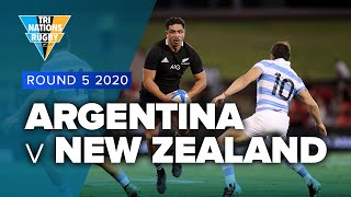 Tri Nations 2020 | Argentina v New Zealand - Rd 5 Highlights
