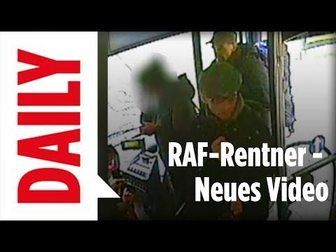 RAF-Rentner in Videos zu sehen / Überfall der Terroristen / Fahndung / BILD DAILY