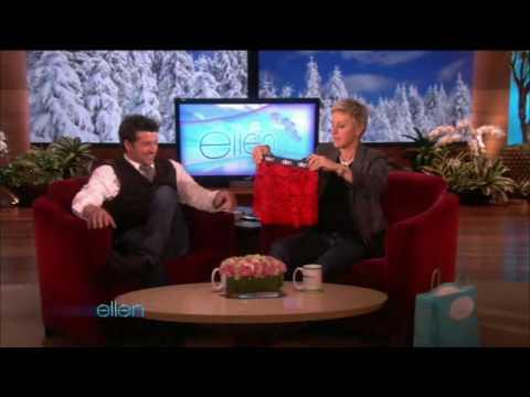 Patrick Dempsey on the Ellen Show 02-11