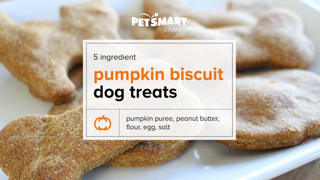 Ingredient Pumpkin Biscuit Dog Treats