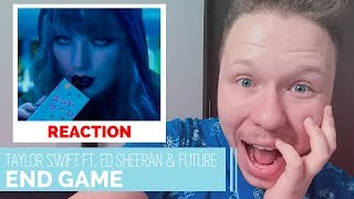 REAGINDO A END GAME DA TAYLOR SWIFT FT.  ED SHEERAN, FUTURE | Despretensioso