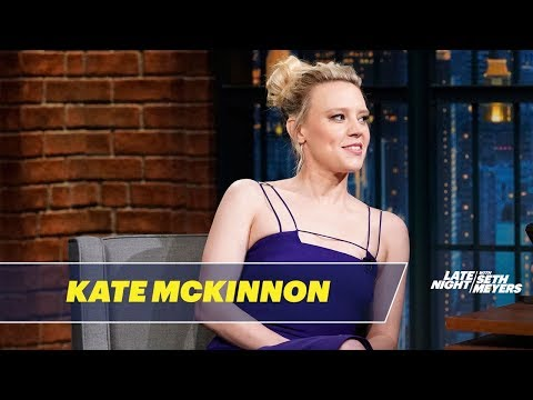 Kate McKinnon Was Bitten by an Iguana