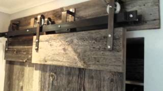 Rebarn's Bypass Barn Door Hardware!