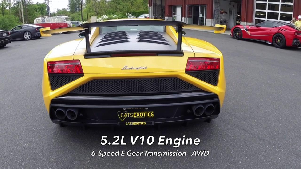2014 Lamborghini Gallardo Lp570 4 Squadra Corse Youtube
