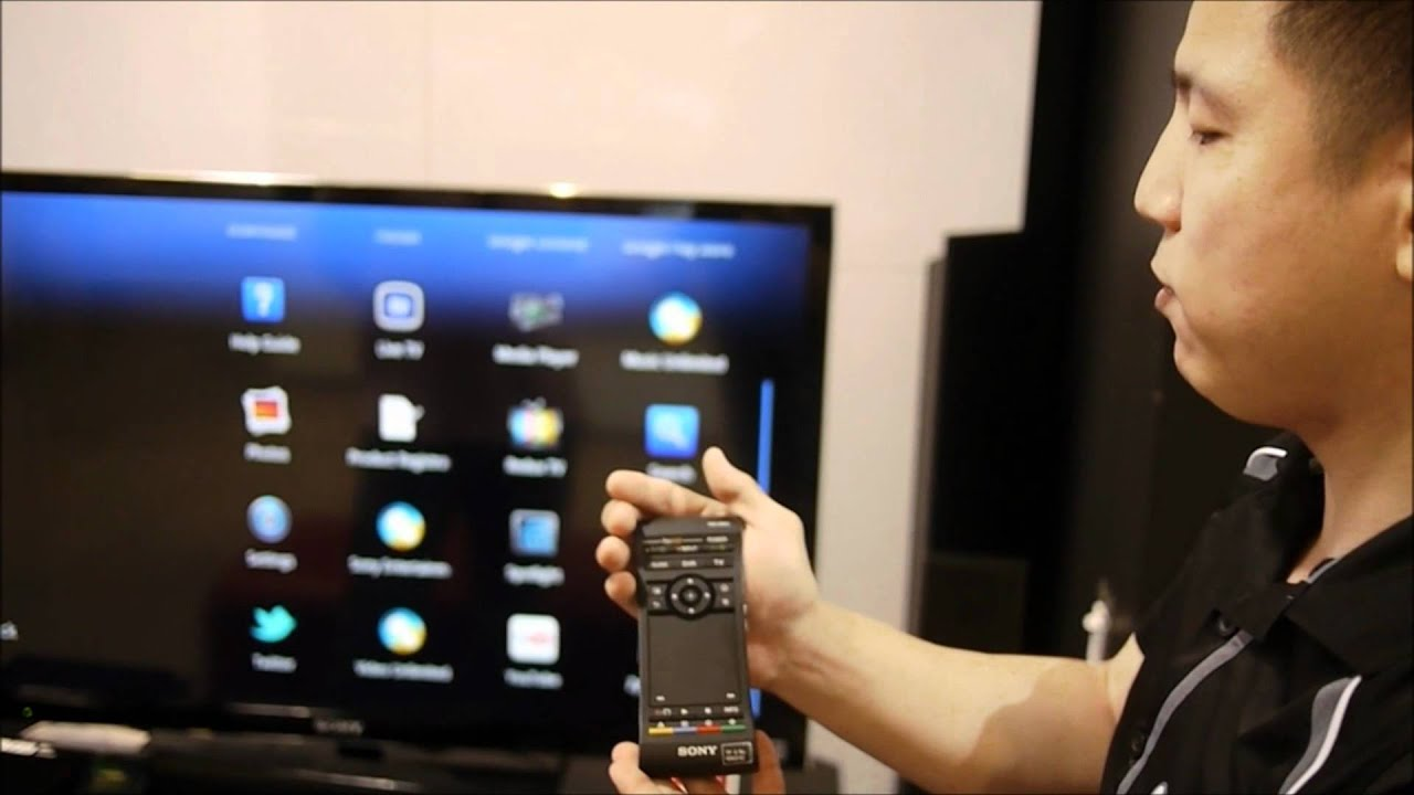 sony internet player with google tv demo youtube. Black Bedroom Furniture Sets. Home Design Ideas