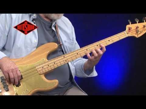 Mo Foster & Rotosound Jazz Bass 77 Bass Guitar Strings