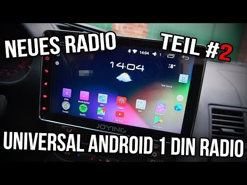 BMW E36 | 1 Din Universal Android Radio - Teil #2