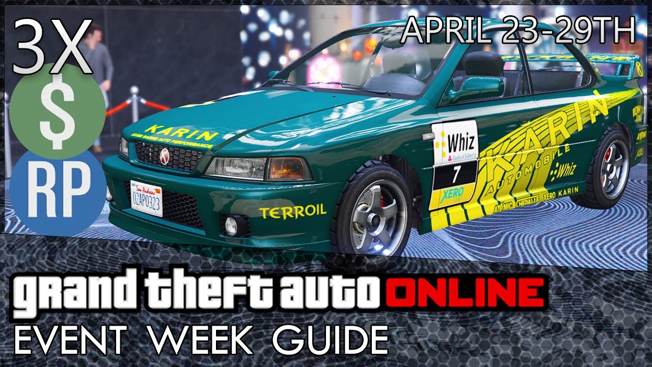 GTA Online: NEW Gerald Missions, Triple & Double Money and Discounts (GTA 5 Event Week)