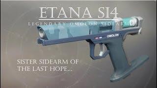 Destiny 2 - Etana SI4 - Last Hope Alternative - PVP Gameplay Review