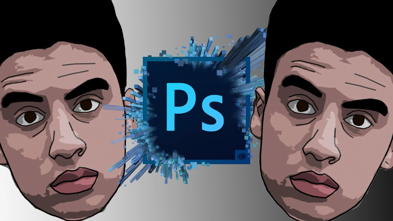 How to make a cartoon in photoshop cc 2016 easy 2016 update
