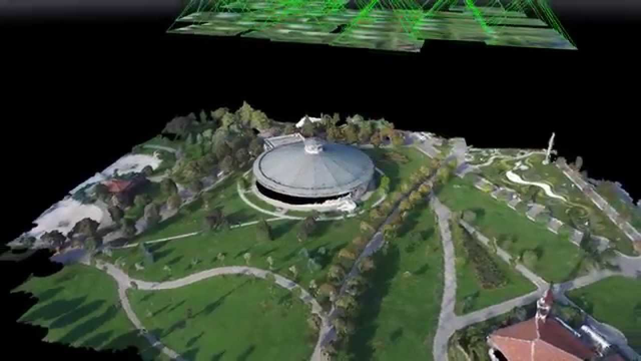 Heuvel io - Panora ma 1453 Museum 3D Point Clouds by DJI Inspire