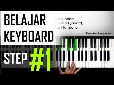 Belajar Keyboard #1 - Teknik Dasar Bermain Keyboard dan Posisi Chord | Pemula