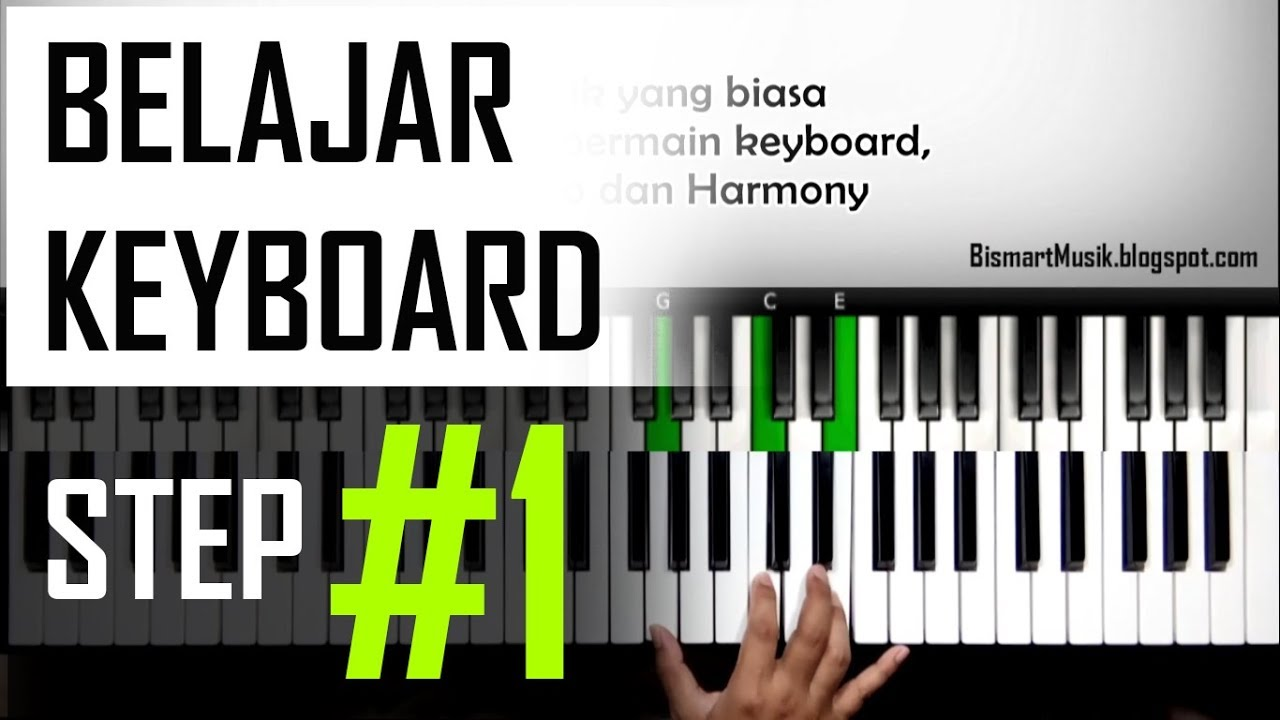Belajar Keyboard 5 Tutorial Lagu Bunda Part 2 Pemula Youtube