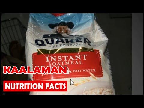 Quaker Oats benefits Instant Oatmeal 'Nutrifacts' KaHealthy Mini Webinar