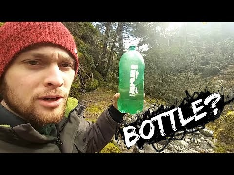 Gold Panning With A BOTTLE? (Must Watch)