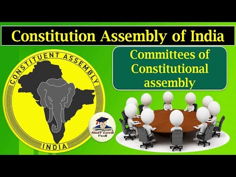 Polity-L-5- Committees of the Constituent Assembly- (Drafting Committee ) By VeeR