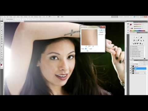 Photography tutorial - Glamor Post Processing