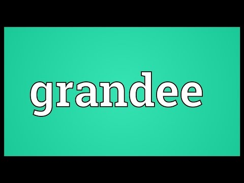 Grandee Meaning